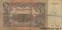 10 Schilling AUTRICHE  1950 P.128 B