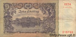 10 Schilling AUTRICHE  1950 P.128 TB