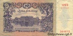 10 Schilling AUTRICHE  1950 P.128 pr.TTB