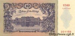 10 Schilling AUTRICHE  1950 P.128 pr.NEUF