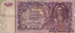 50 Schilling AUTRICHE  1951 P.130 B