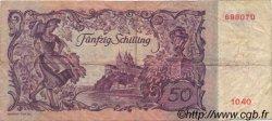 50 Schilling AUTRICHE  1951 P.130 TB