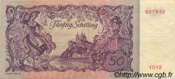50 Schilling AUTRICHE  1951 P.130 TTB+