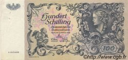 100 Schilling AUTRICHE  1949 P.132 SUP