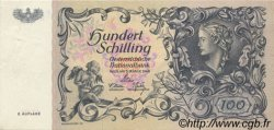100 Schilling AUTRICHE  1949 P.132 SUP+