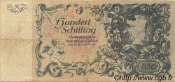 100 Schilling AUTRICHE  1953 P.132var TTB