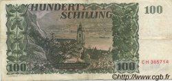 100 Schilling AUTRICHE  1954 P.133 TB+
