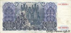 1000 Schilling AUTRICHE  1954 P.135 pr.SUP
