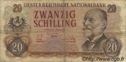 20 Schilling AUTRICHE  1956 P.136a TB
