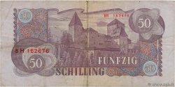 50 Schilling AUTRICHE  1962 P.137a pr.TB