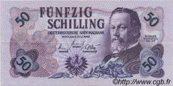 50 Schilling AUTRICHE  1962 P.137a SUP+