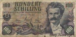 100 Schilling AUTRICHE  1960 P.138a B