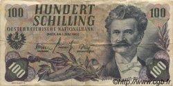 100 Schilling AUTRICHE  1960 P.138a TB