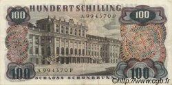 100 Schilling AUTRICHE  1960 P.138a TTB+