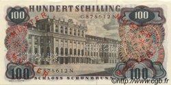 100 Schilling AUTRICHE  1960 P.138s pr.NEUF