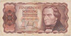500 Schilling AUTRICHE  1965 P.139 TB