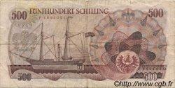 500 Schilling AUTRICHE  1965 P.139 TB+