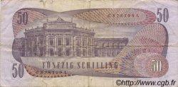 50 Schilling AUTRICHE  1970 P.143a TB