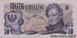50 Schilling AUTRICHE  1970 P.143a TTB