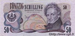 50 Schilling AUTRICHE  1970 P.143a TTB+