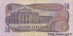 50 Schilling AUTRICHE  1970 P.144 pr.TTB