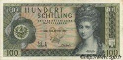 100 Schilling AUTRICHE  1969 P.145a TB