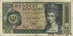 100 Schilling AUTRICHE  1969 P.145a TTB