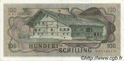 100 Schilling AUTRICHE  1969 P.146 SUP+