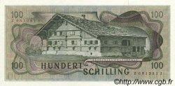 100 Schilling AUTRICHE  1969 P.146 pr.NEUF