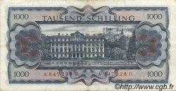 1000 Schilling AUTRICHE  1966 P.147a TTB