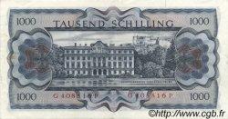 1000 Schilling AUTRICHE  1966 P.147a pr.SUP