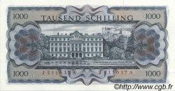 1000 Schilling AUTRICHE  1966 P.147a SUP+