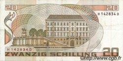 20 Schilling AUTRICHE  1986 P.148 TTB
