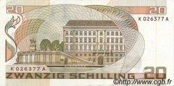 20 Schilling AUTRICHE  1986 P.148 SPL