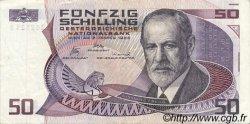 50 Schilling AUTRICHE  1986 P.149 pr.TTB