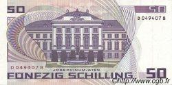 50 Schilling AUTRICHE  1986 P.149 SPL