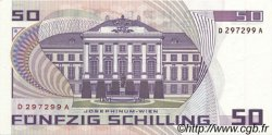 50 Schilling AUTRICHE  1986 P.149 NEUF