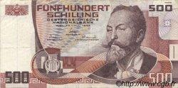 500 Schilling AUTRICHE  1985 P.151 pr.TTB