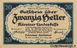 20 Heller AUTRICHE  1920 PS.107 NEUF
