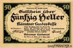 50 Heller AUSTRIA  1920 PS.108 UNC