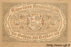 50 Heller AUTRICHE  1920 PS.108 NEUF