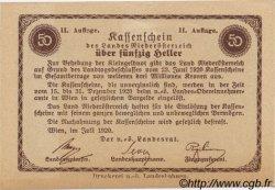 50 Heller AUTRICHE  1920 PS.114a NEUF
