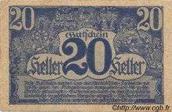 20 Heller AUTRICHE  1920 PS.115c TTB