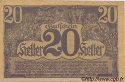 20 Heller AUTRICHE  1920 PS.115d TTB