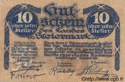 10 Heller AUTRICHE  1919 PS.135 NEUF