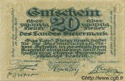 20 Heller AUTRICHE  1919 PS.136 NEUF