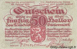 50 Heller AUTRICHE  1919 PS.137 NEUF