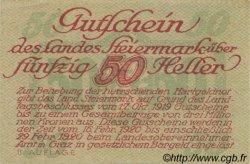 50 Heller AUTRICHE  1919 PS.138b SUP