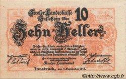 10 Heller AUTRICHE  1919 PS.139 NEUF