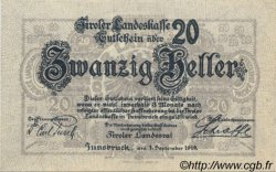 20 Heller AUTRICHE  1919 PS.140 NEUF